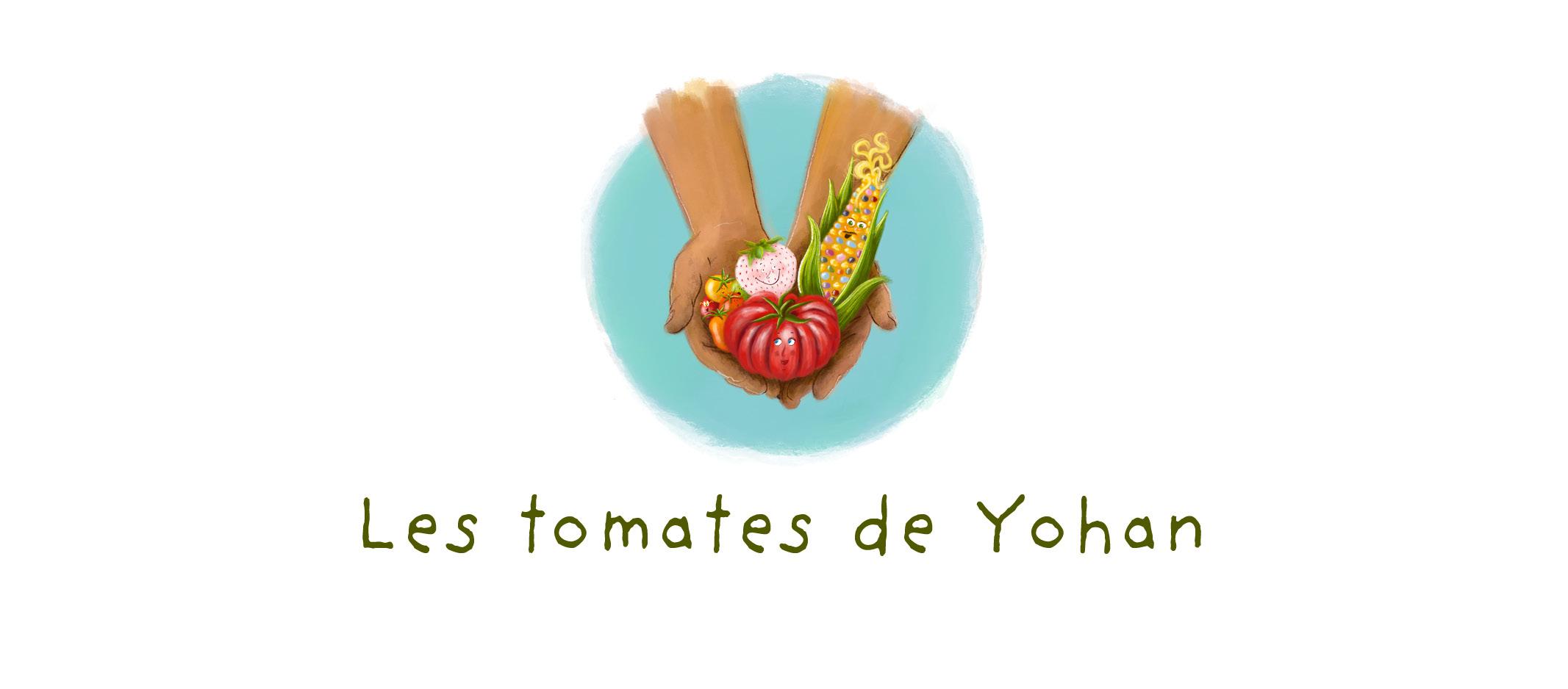 Les Tomates de Yohan et Christina